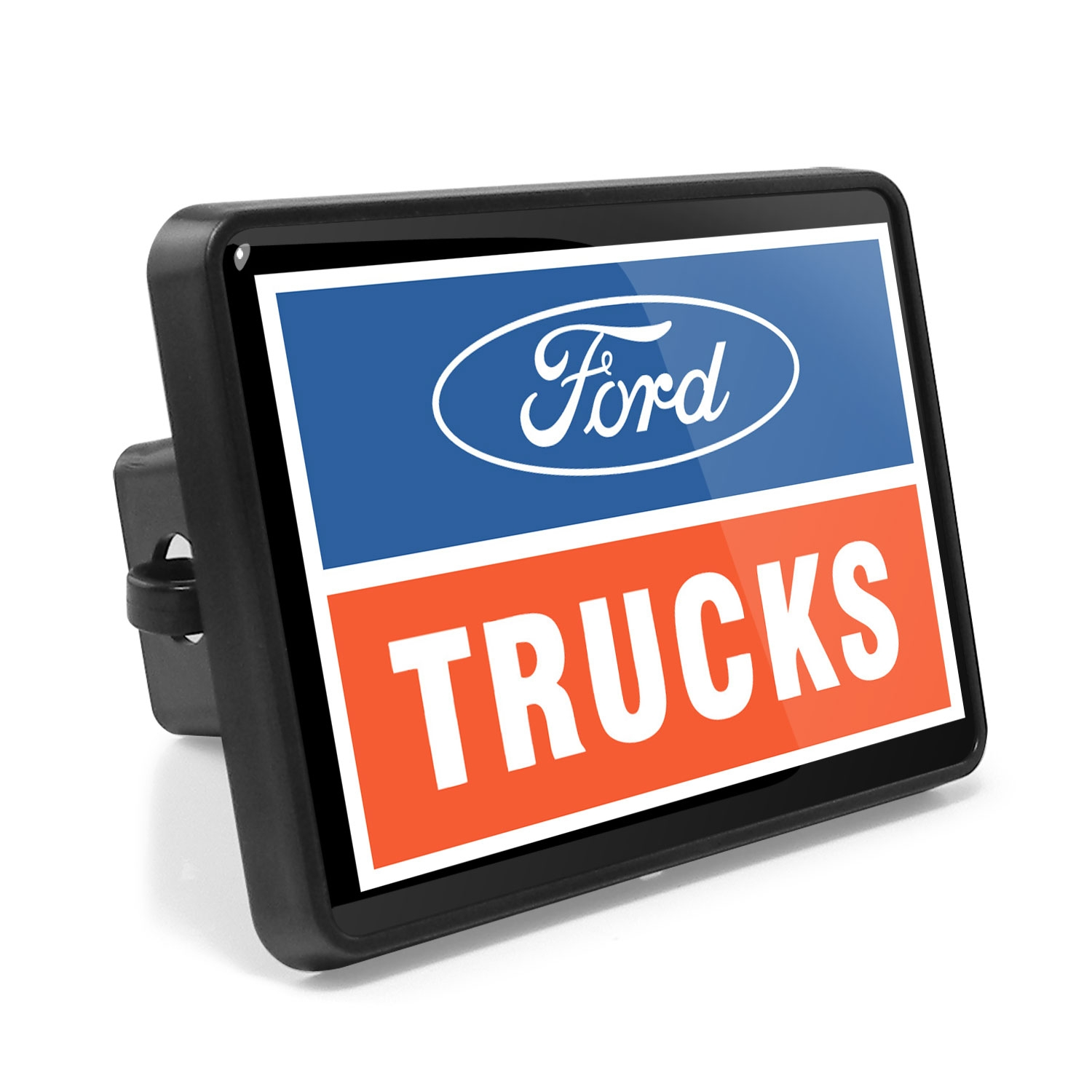 Ford Trucks UV Graphic Metal Plate on ABS Plastic 2 inch Tow Hitch Cover