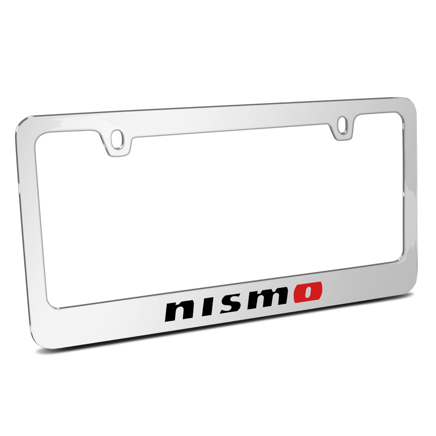 Nissan NISMO Mirror Chrome Metal License Plate Frame