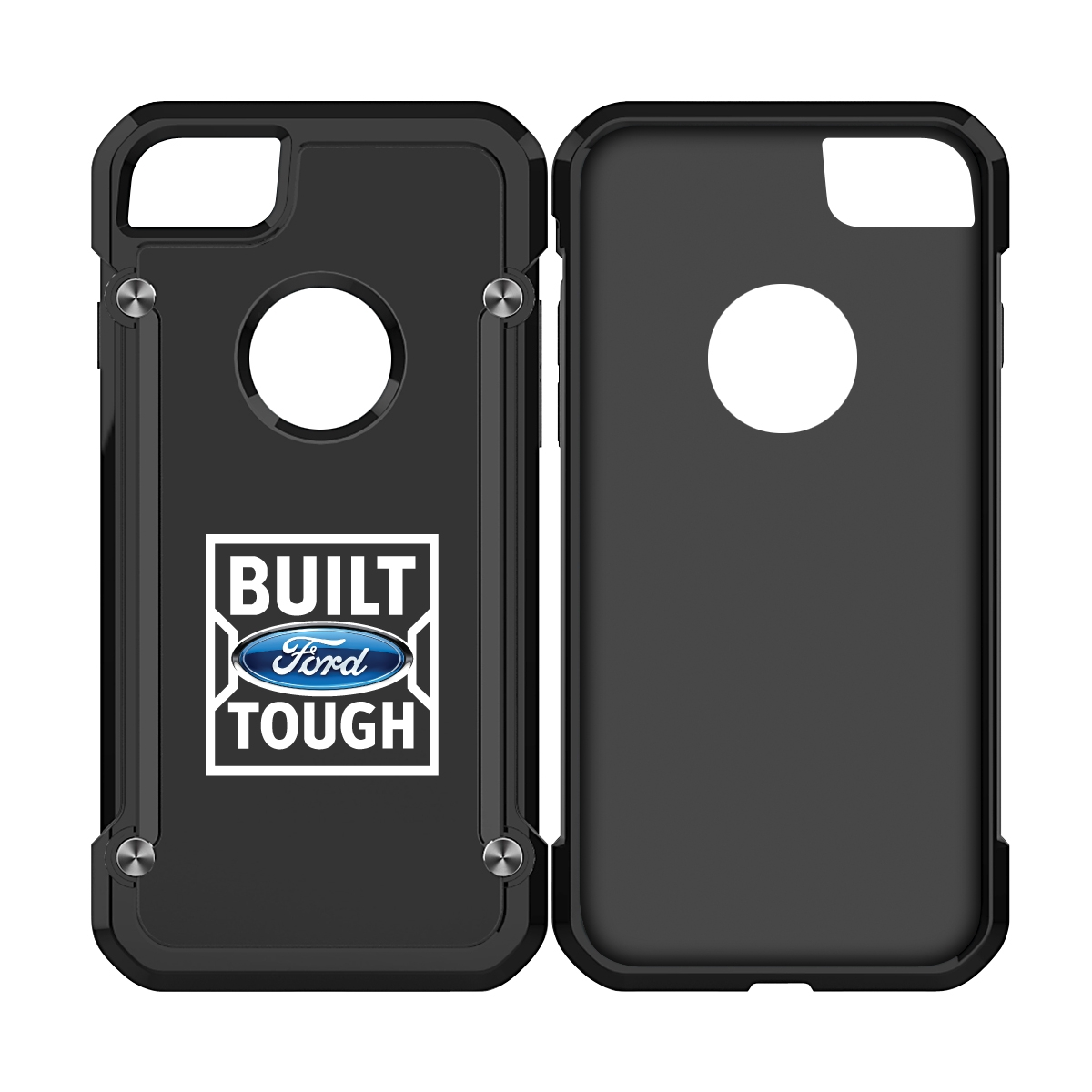 Ford Built Ford Tough iPhone 7 iPhone 8 TPU Shockproof Clear Cell Phone Case