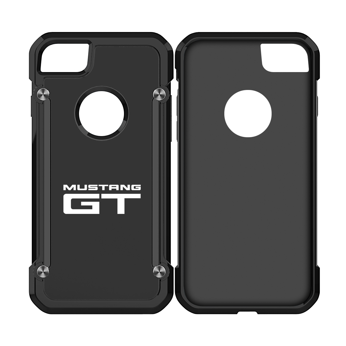 Ford mustang gt iphone 7 iphone 8 tpu shockproof black cell phone case