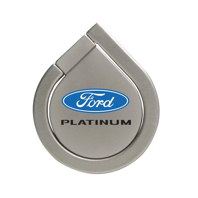 Ford F-150 Platinum Silver 360 Degree Rotation Finger Ring Holder for Cell Phone