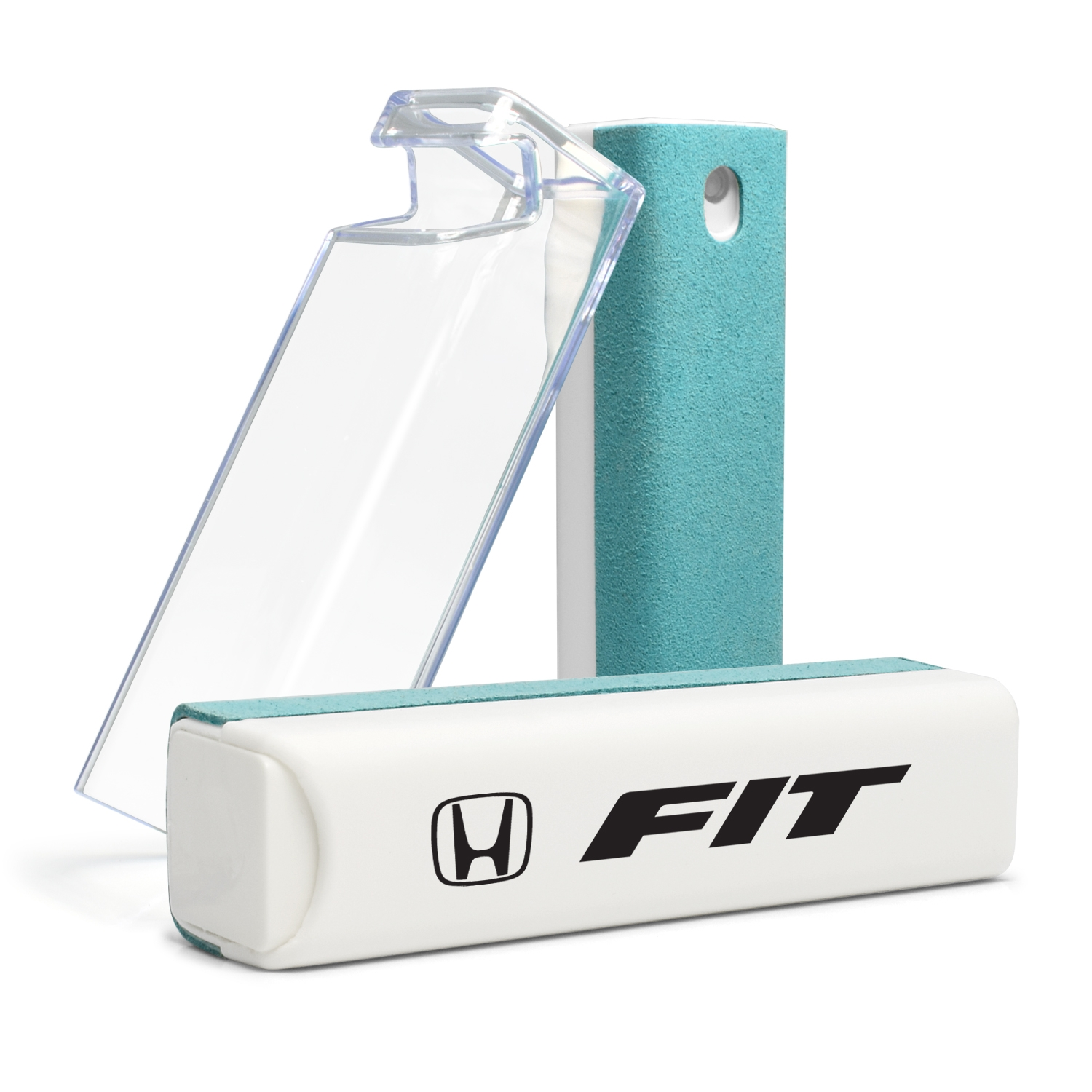Honda Fit All-in-One Blue Wipe Navigation Screen Cleaner with Clear Cell Phone Stand