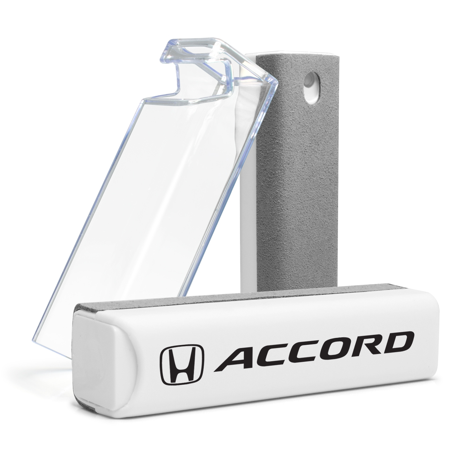 Honda Accord All-in-One Gray Wipe Navigation Screen Cleaner with Clear Cell Phone Stand