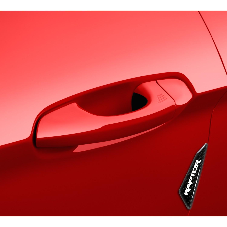 Ford F-150 Raptor Real Black Carbon Fiber Door Edge Guard Decal & Ford F-150 Raptor Real Black Carbon Fiber Door Edge Guard Decal ...
