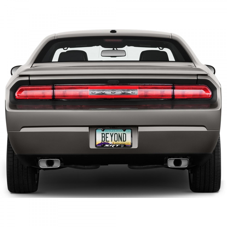 Handmade Carbon Fiber License Plate Frame Hellcat Srt Dodge Challenger Charger