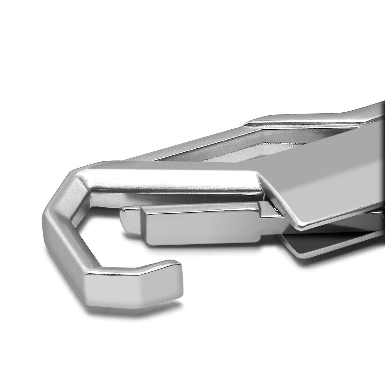 Honda CR-Z Silver Snap Hook Metal Key Chain