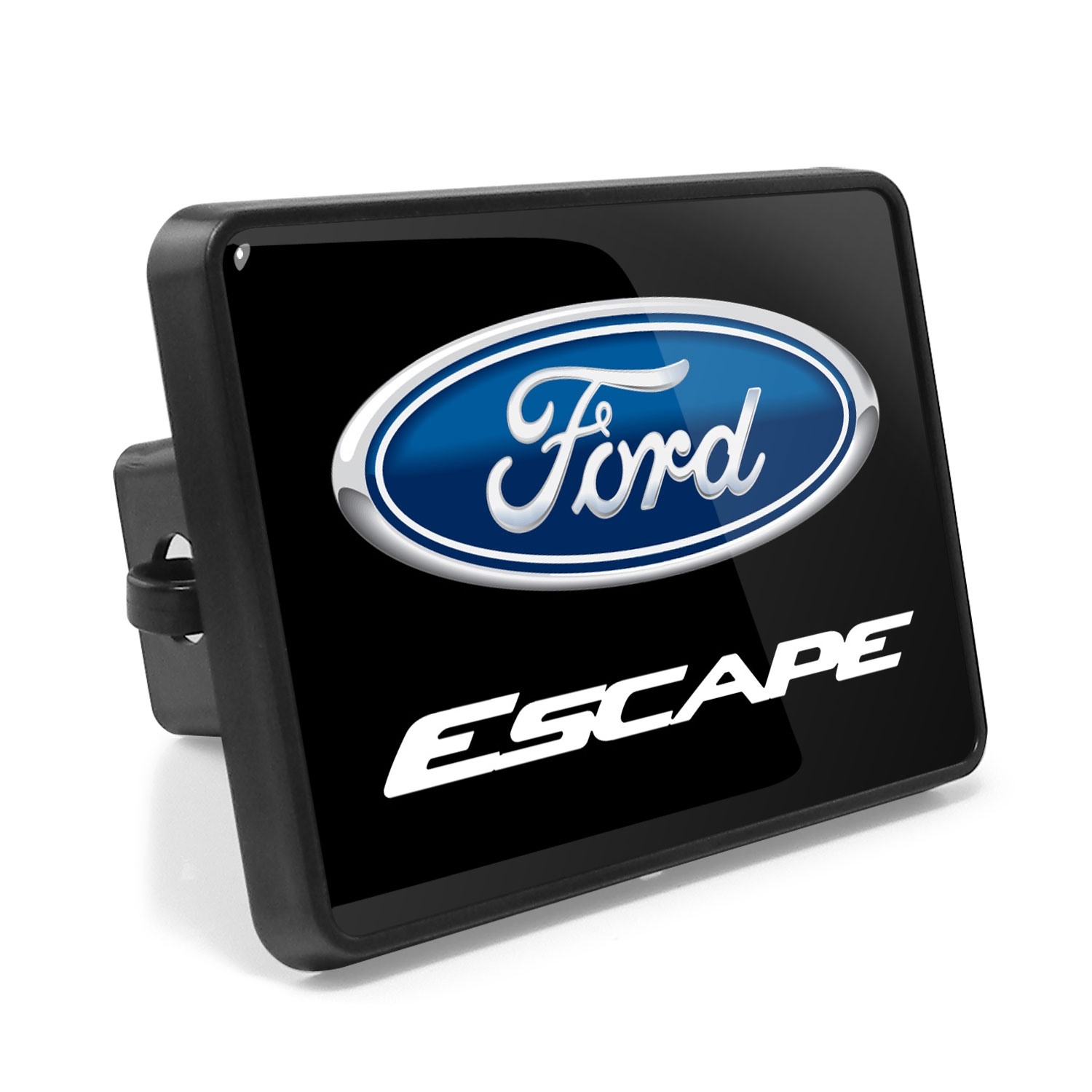 Ford Escape UV Graphic Metal Plate on ABS Plastic 2 inch Tow Hitch Cover
