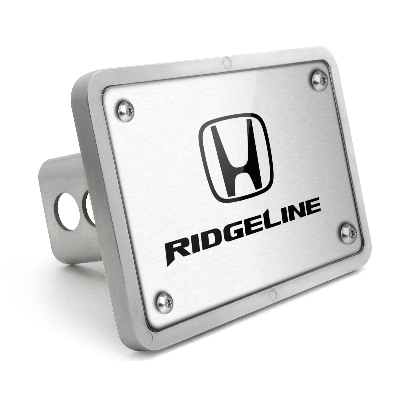 Honda Ridgeline UV Graphic Brushed Billet Aluminum 2 inch Tow Hitch Cover
