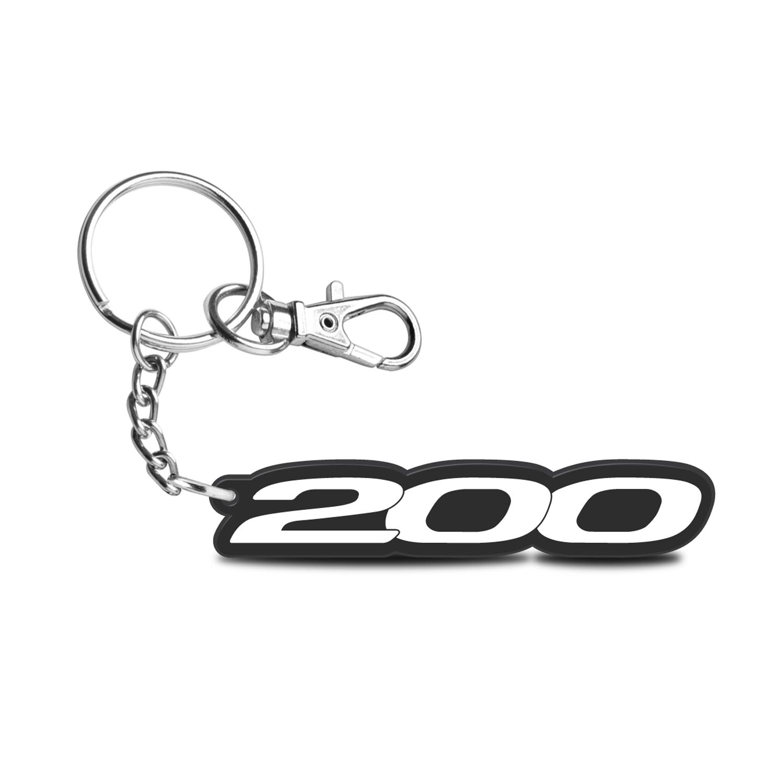 Chrysler 200 Custom Laser Cut UV Full-Color Printing Acrylic Charm Key Chain