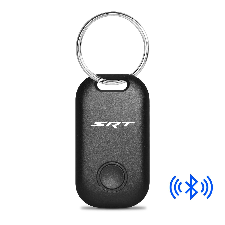 Dodge Jeep SRT Logo Bluetooth Smart Key Finder Black Key Chain