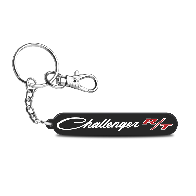 Dodge Challenger R/T Classic Custom Laser Cut UV Full-Color Printing Acrylic Charm Key Chain