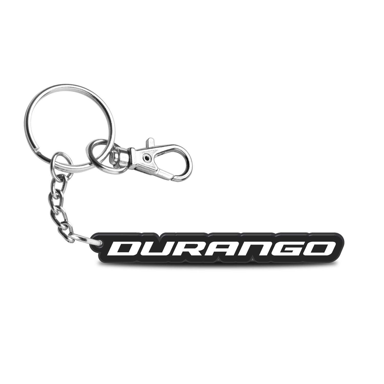 Dodge Durango Custom Laser Cut with UV Full-Color Printing Acrylic Charm Key Chain