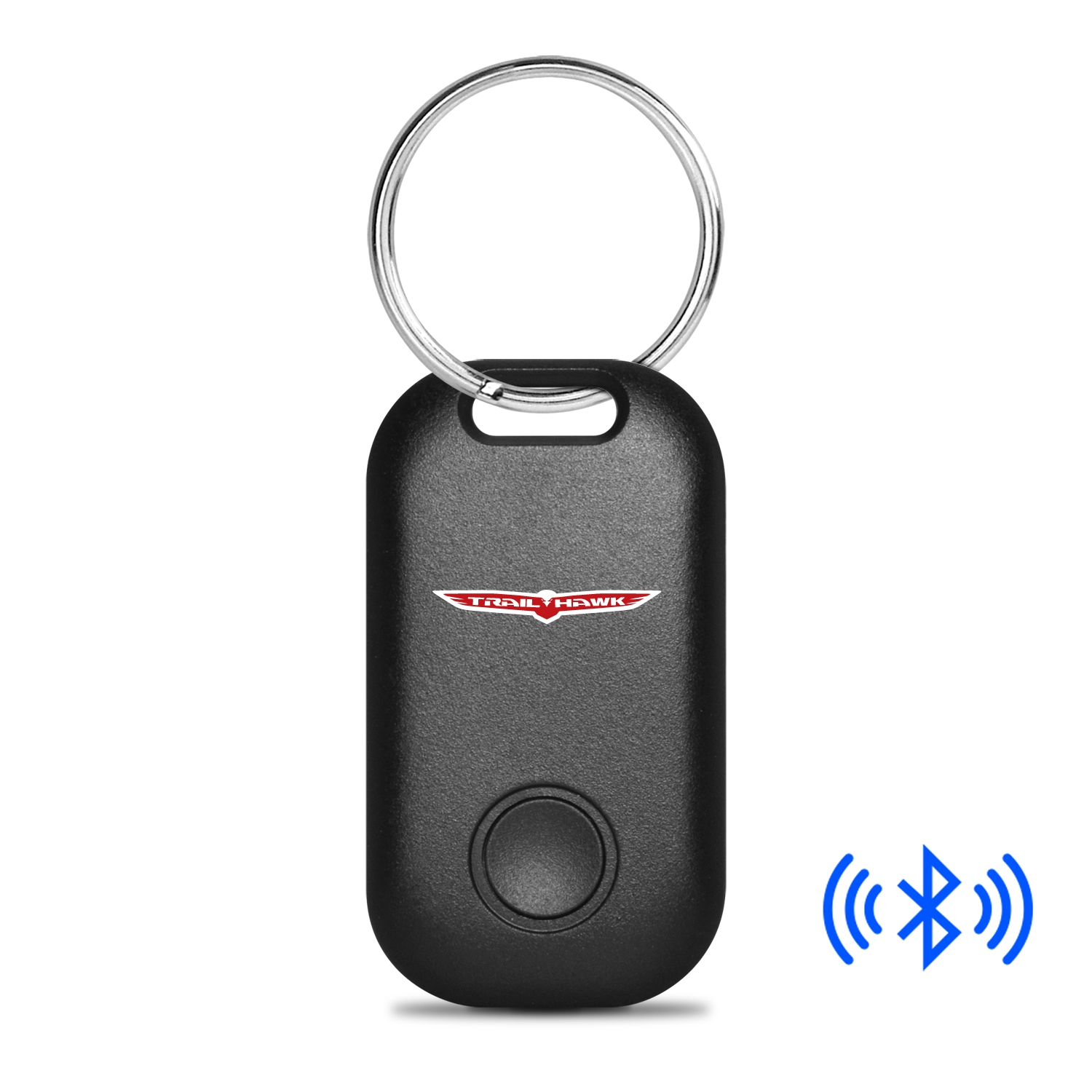 Jeep Trailhawk Bluetooth Smart Key Finder Black Key Chain
