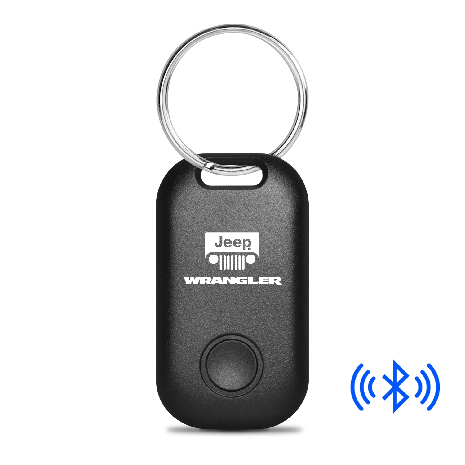 Jeep Wrangler Bluetooth Smart Key Finder Black Key Chain