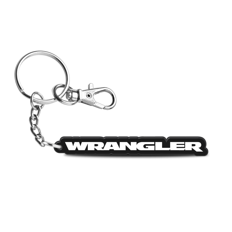 Jeep Wrangler Custom Laser Cut with UV Full-Color Printing Acrylic Charm Key Chain
