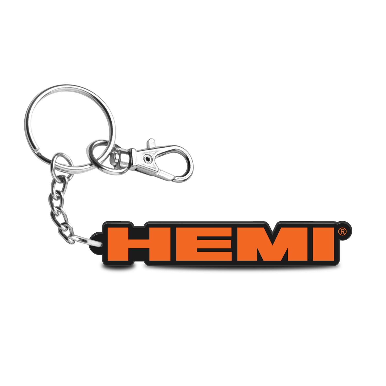 HEMI Logo Custom Laser Cut with UV Full-Color Printing Acrylic Charm Key Chain