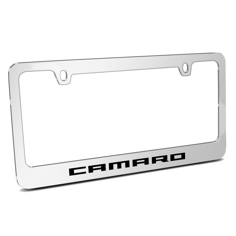 Chevrolet Camaro 2010  Chrome Metal License Plate Frame