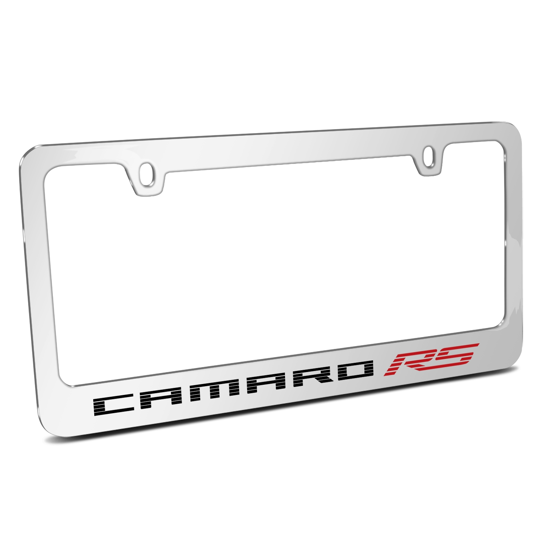 Chevrolet Camaro RS 2010 Speed-Line Chrome Metal License Plate Frame