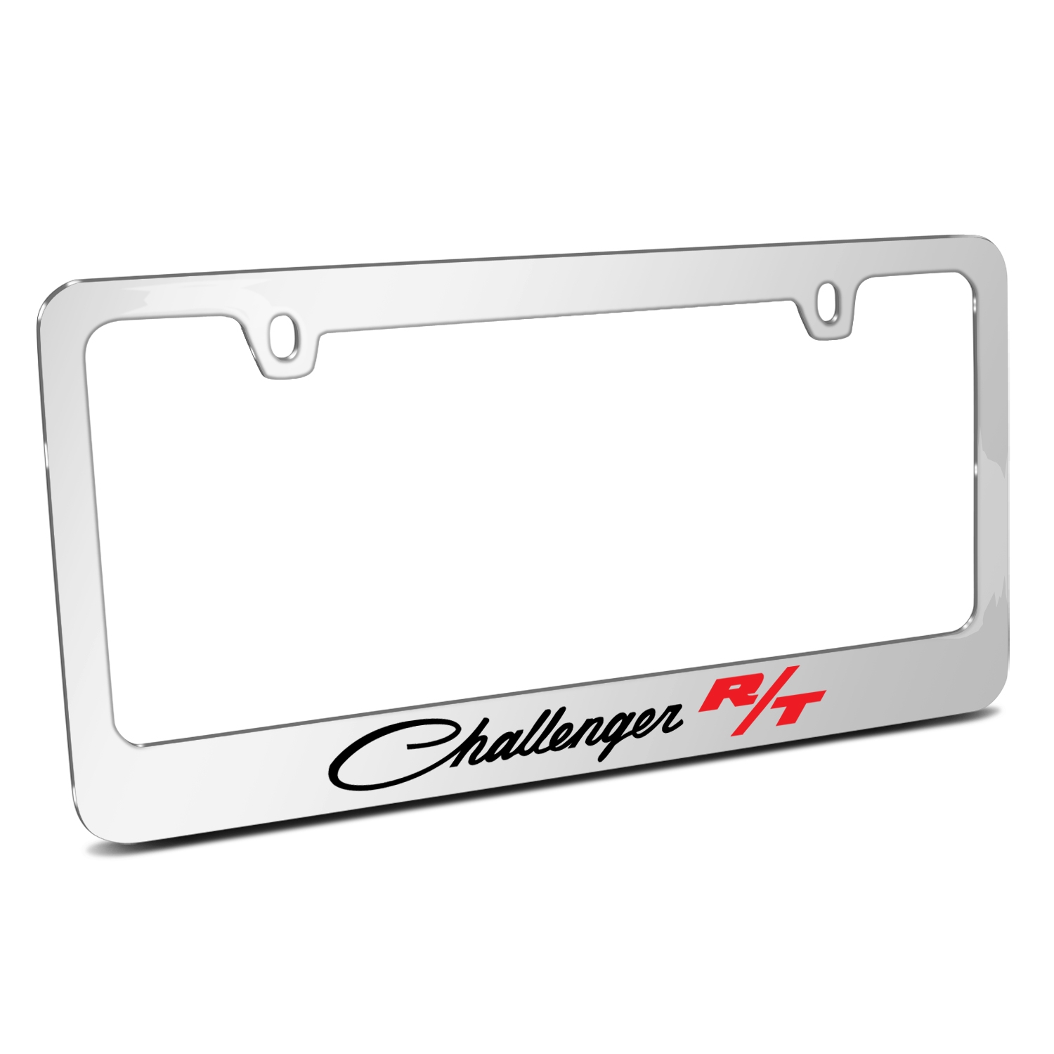 Dodge Challenger R/T Classic Mirror Chrome Metal License Plate Frame