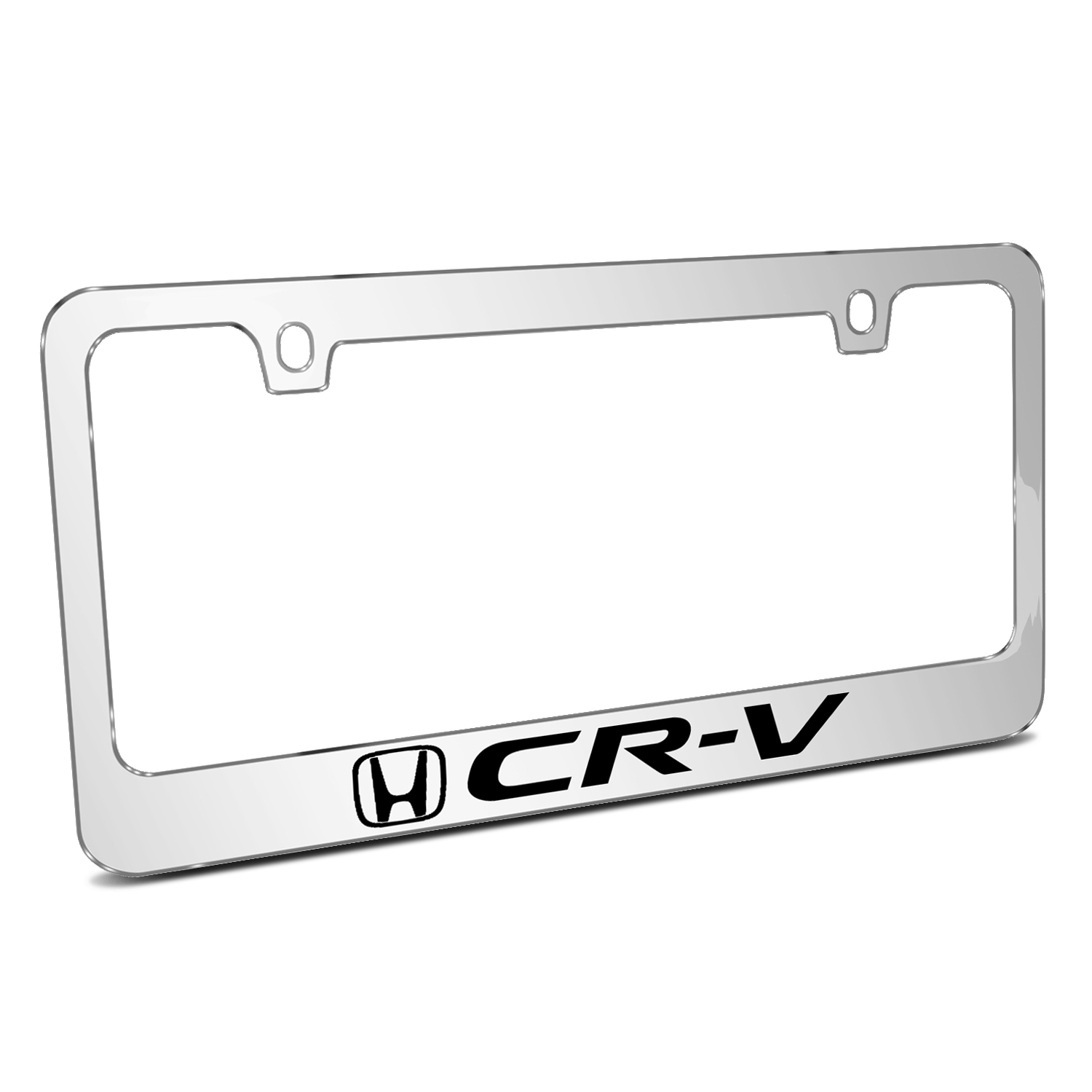 Honda CR-V Mirror Chrome Metal License Plate Frame