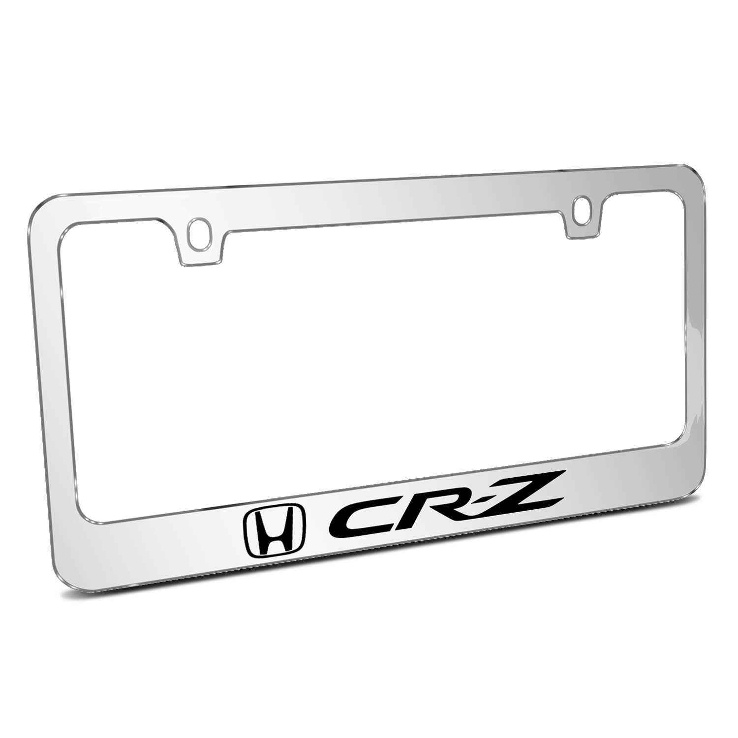 Honda CR-Z Mirror Chrome Metal License Plate Frame