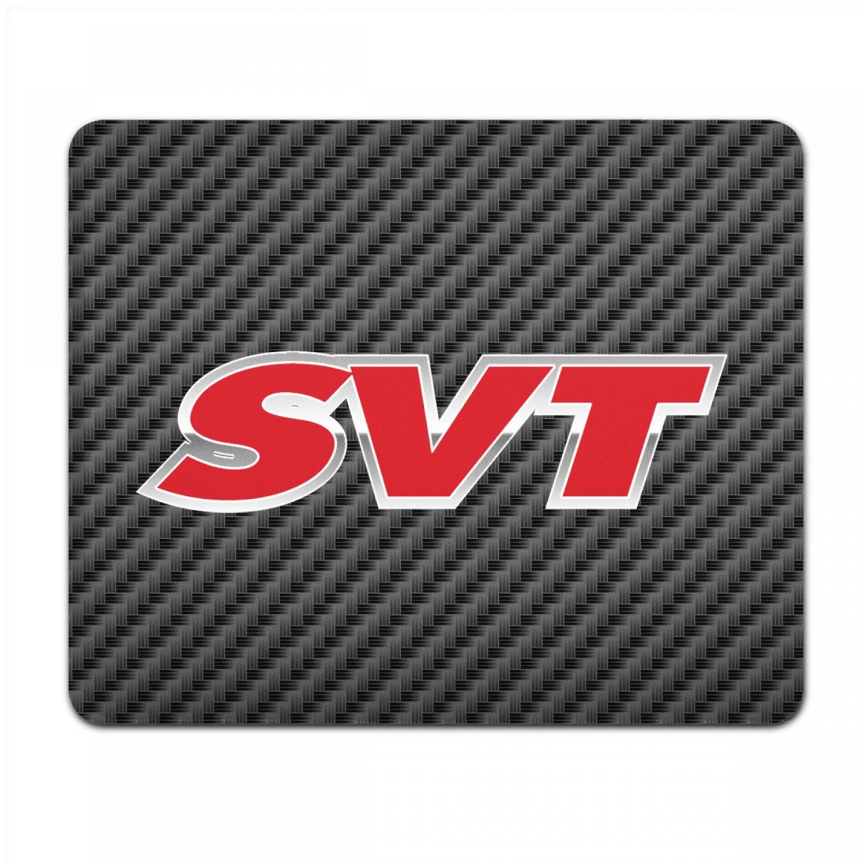 Ford SVT Black Carbon Fiber Texture Graphic PC Mouse Pad