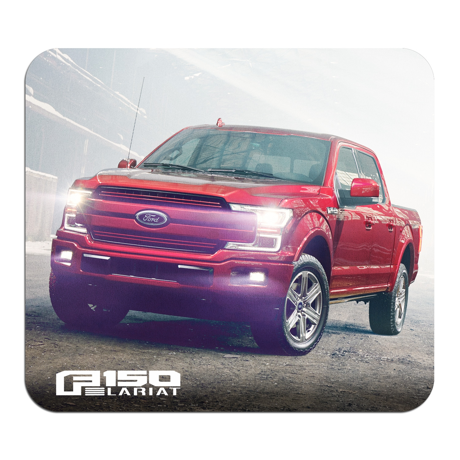 Ford F-150 Lariat Graphic PC Mouse Pad