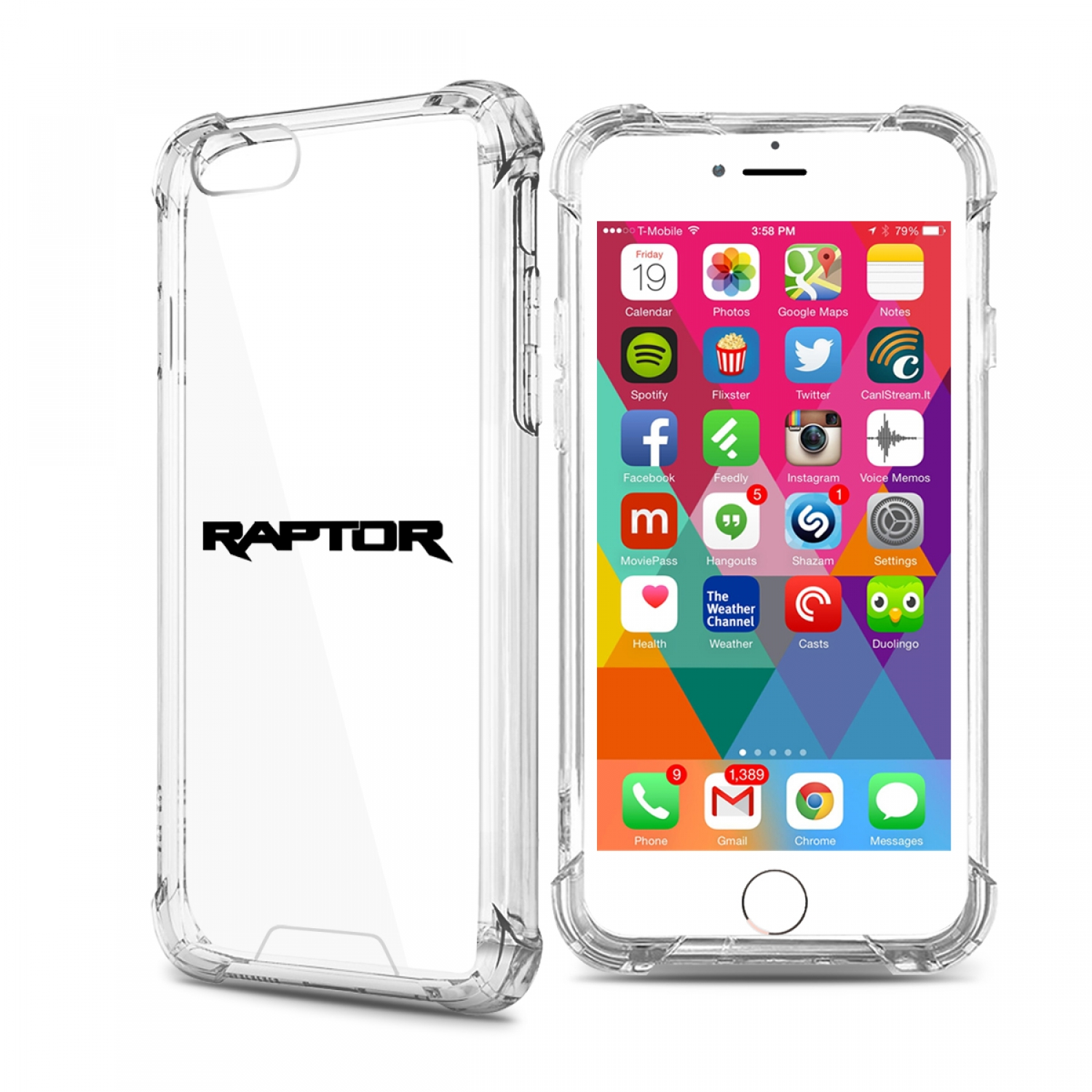 Ford F150 Raptor iPhone 7 Clear TPU Shockproof Cell Phone Case