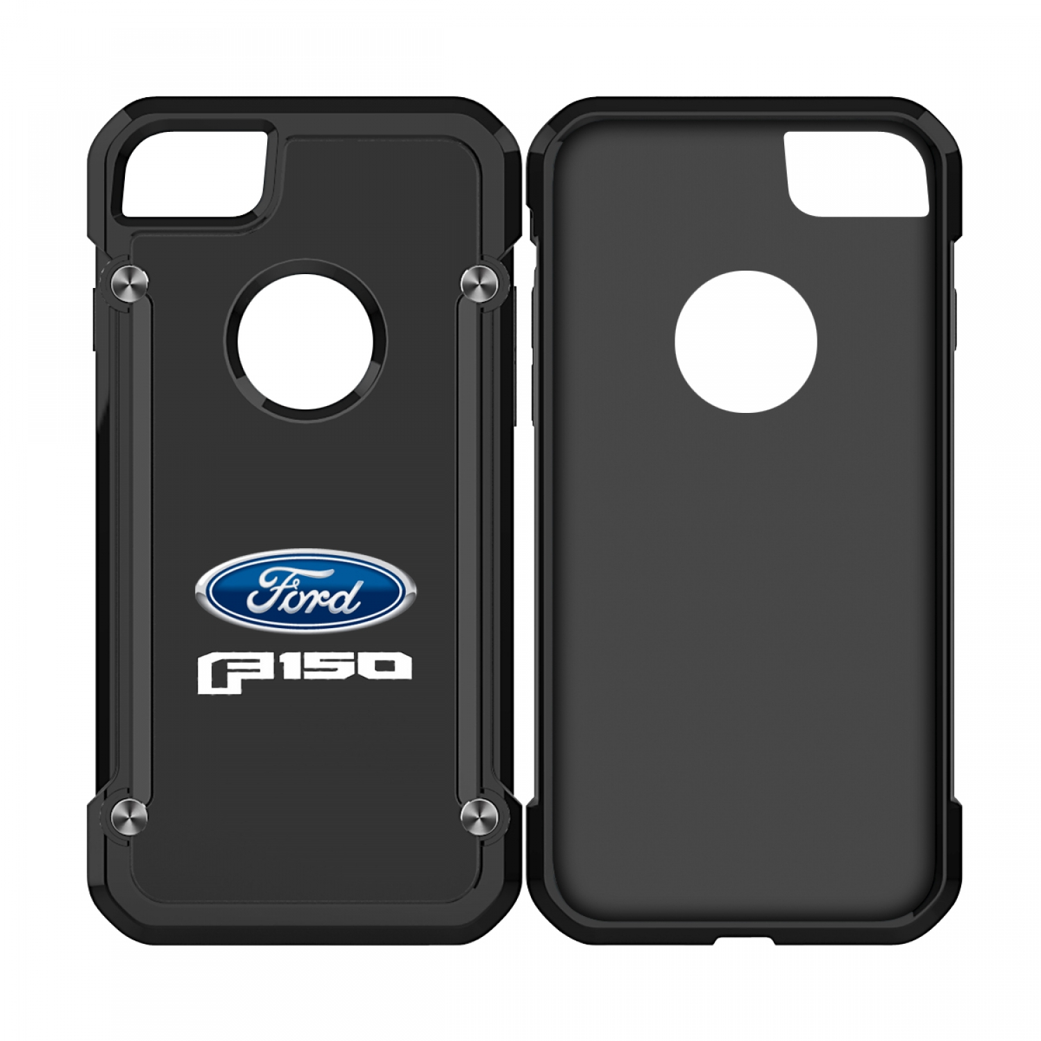 Ford F150 2015 iPhone 7 iPhone 8 TPU Shockproof Black Cell Phone Case