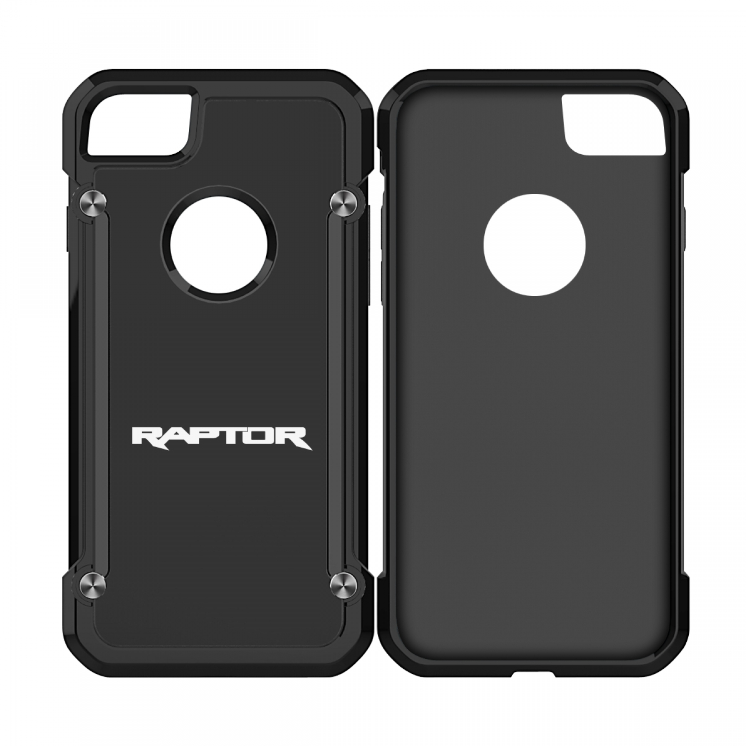 Ford F150 Raptor iPhone 7 iPhone 8 TPU Shockproof Black Cell Phone Case