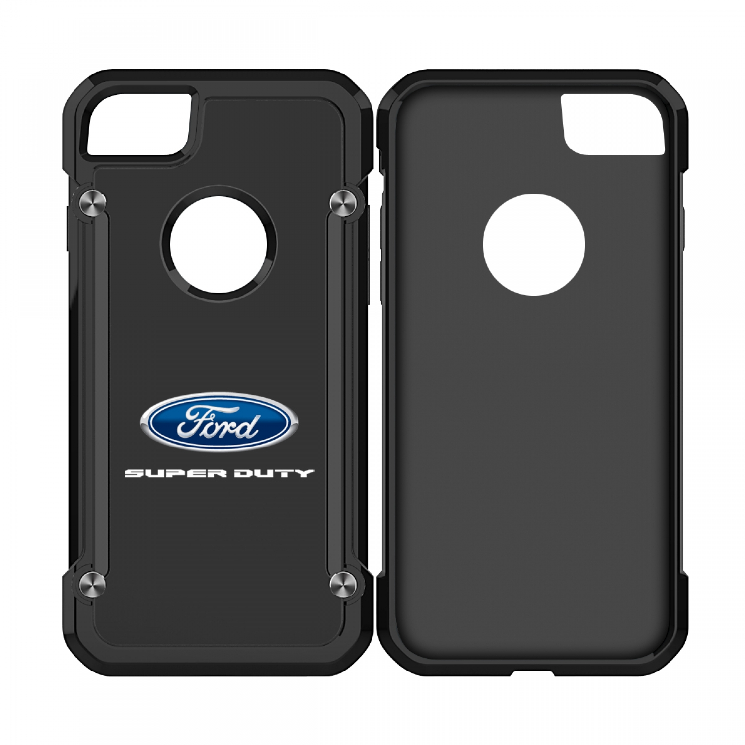 Ford Super Duty iPhone 7 iPhone 8 TPU Shockproof Black Cell Phone Case