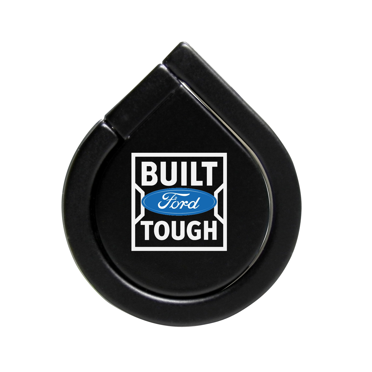 Ford Built Ford Tough Black 360 Degree Rotation Finger Ring Holder for Cell Phone