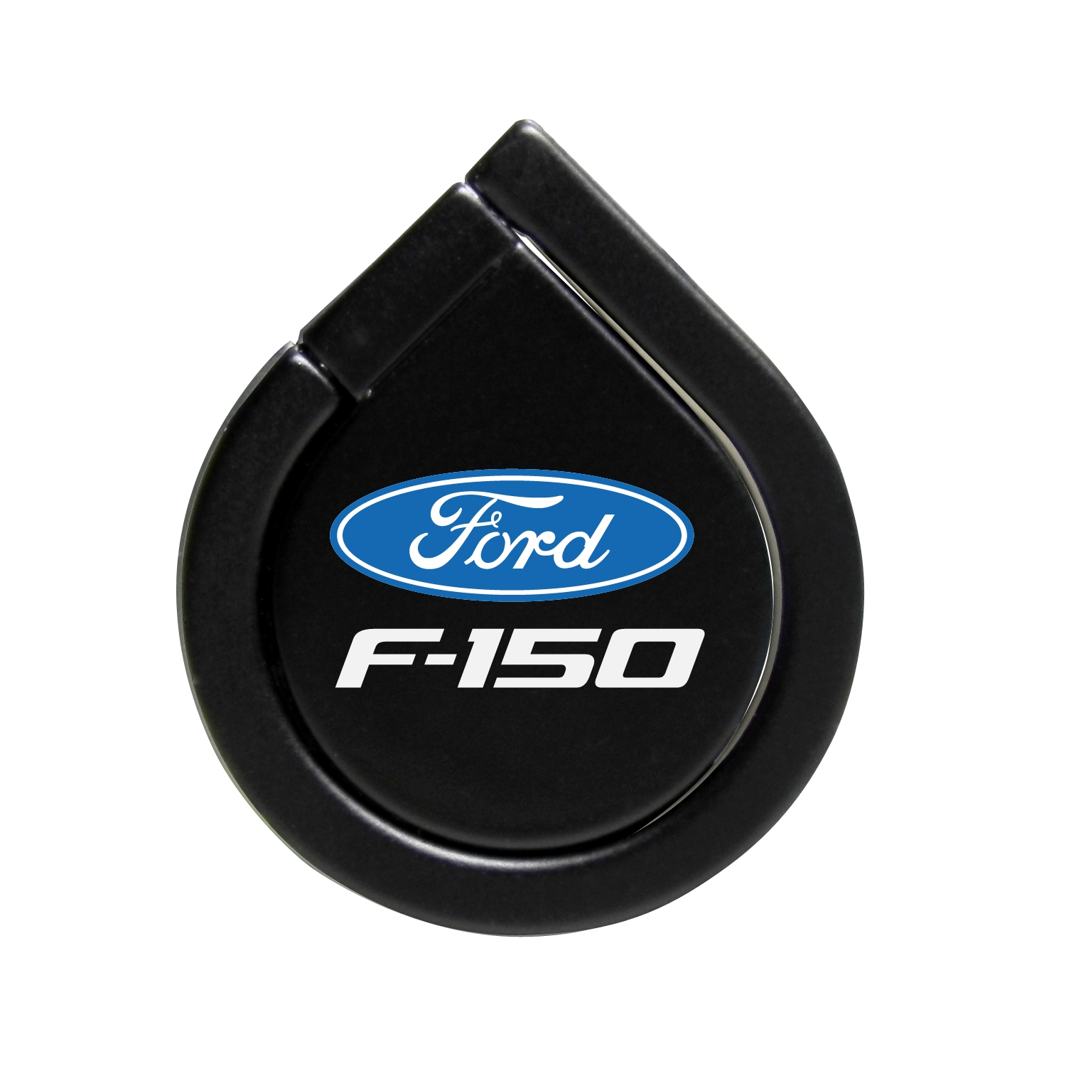 Ford F-150 Black 360 Degree Rotation Finger Ring Holder for Cell Phone
