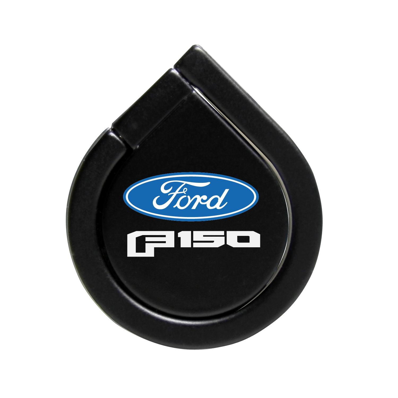 Ford F150 2015 Black 360 Degree Rotation Finger Ring Holder for Cell Phone