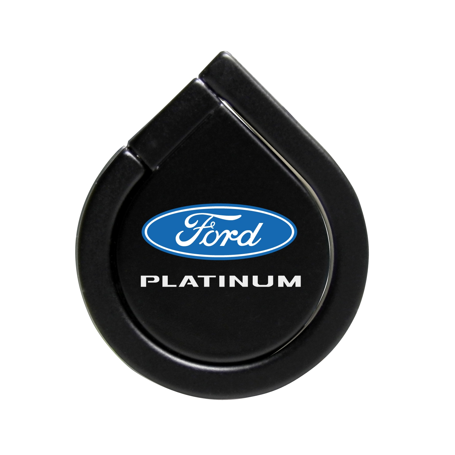Ford F-150 Platinum Black 360 Degree Rotation Finger Ring Holder for Cell Phone