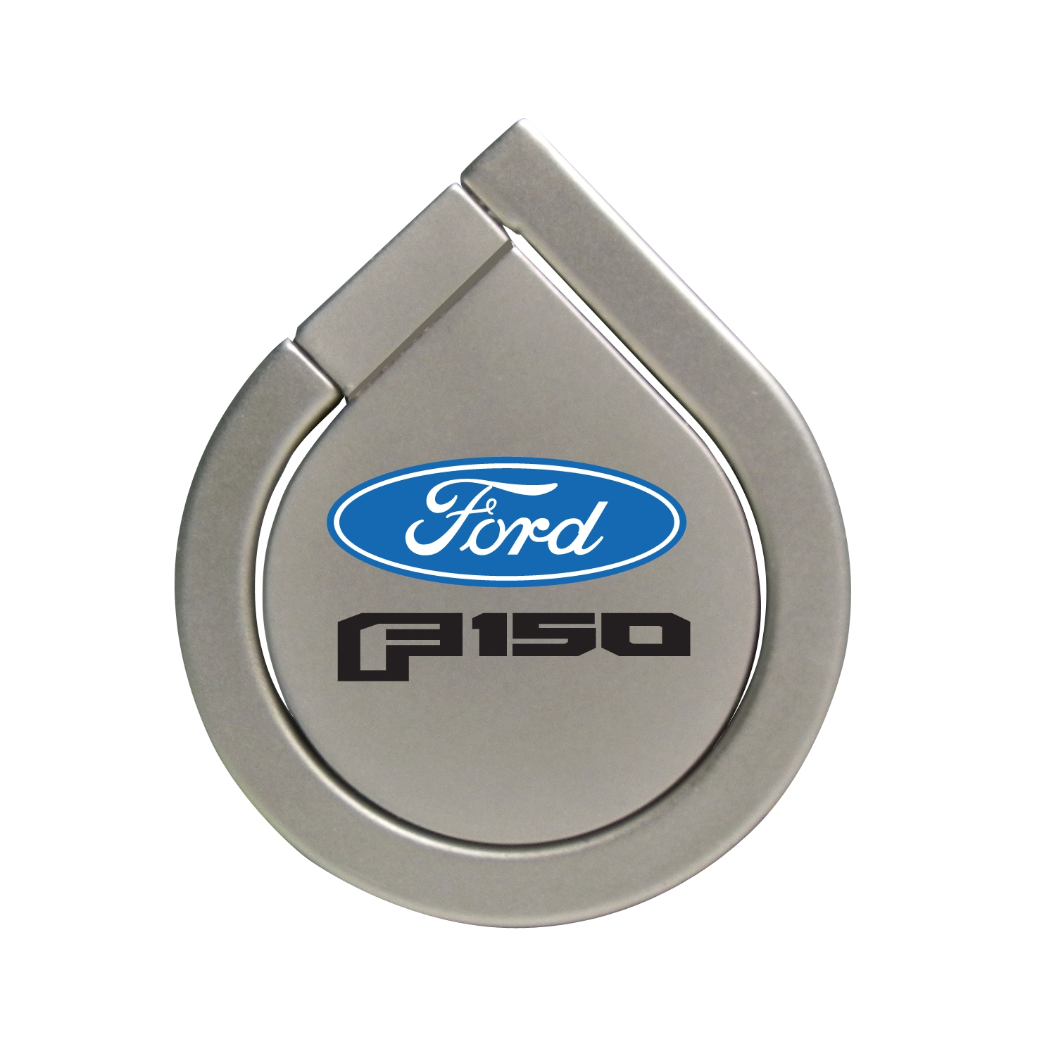 Ford F150 2015 Silver 360 Degree Rotation Finger Ring Holder for Cell Phone