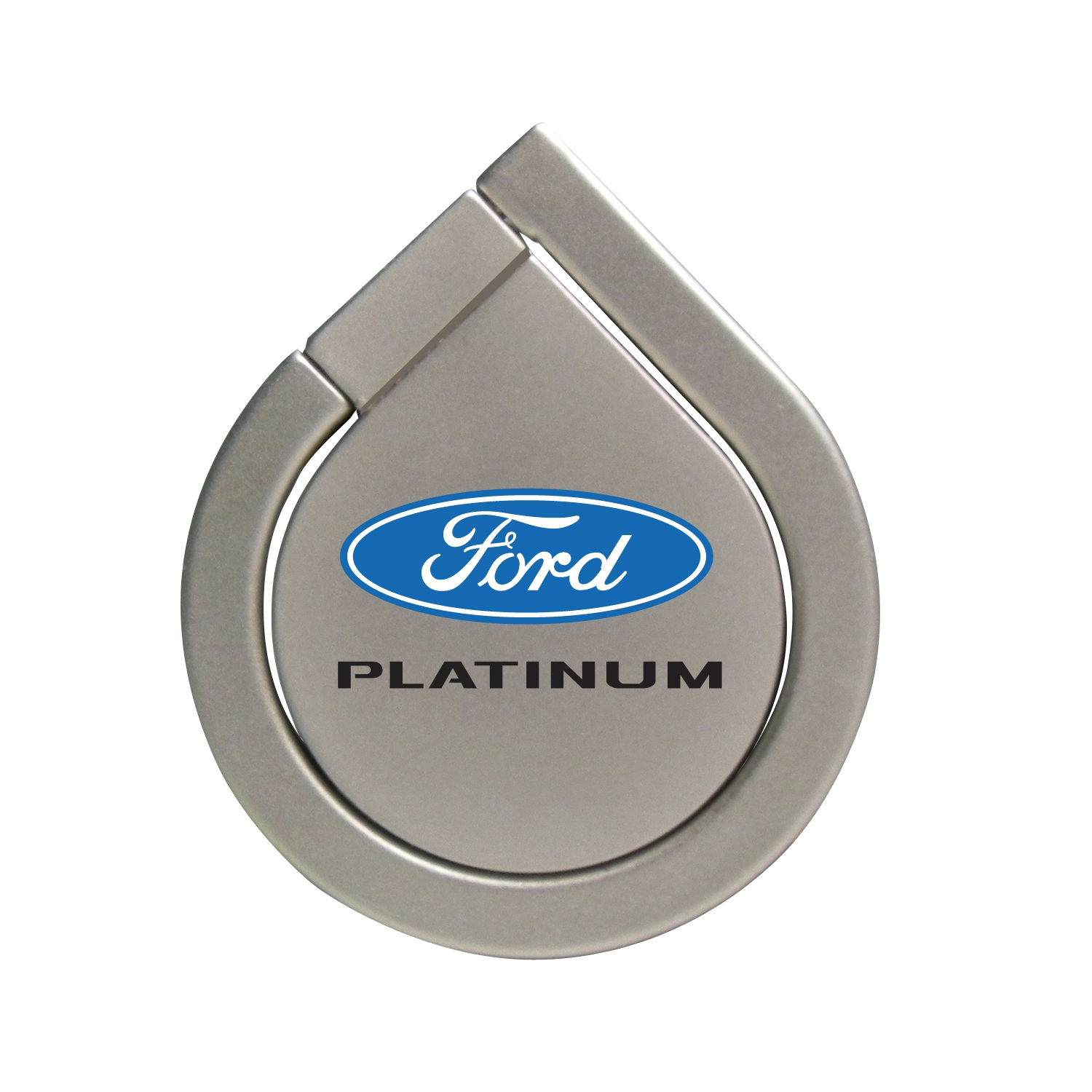 Ford F-150 Platinum Silver 360 Degree Rotation Finger Ring Holder for Cell Phone