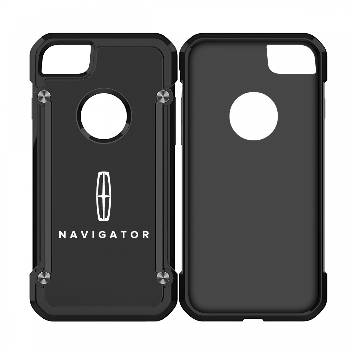 Lincoln Navigator iPhone 7 iPhone 8 TPU Shockproof Black Cell Phone Case