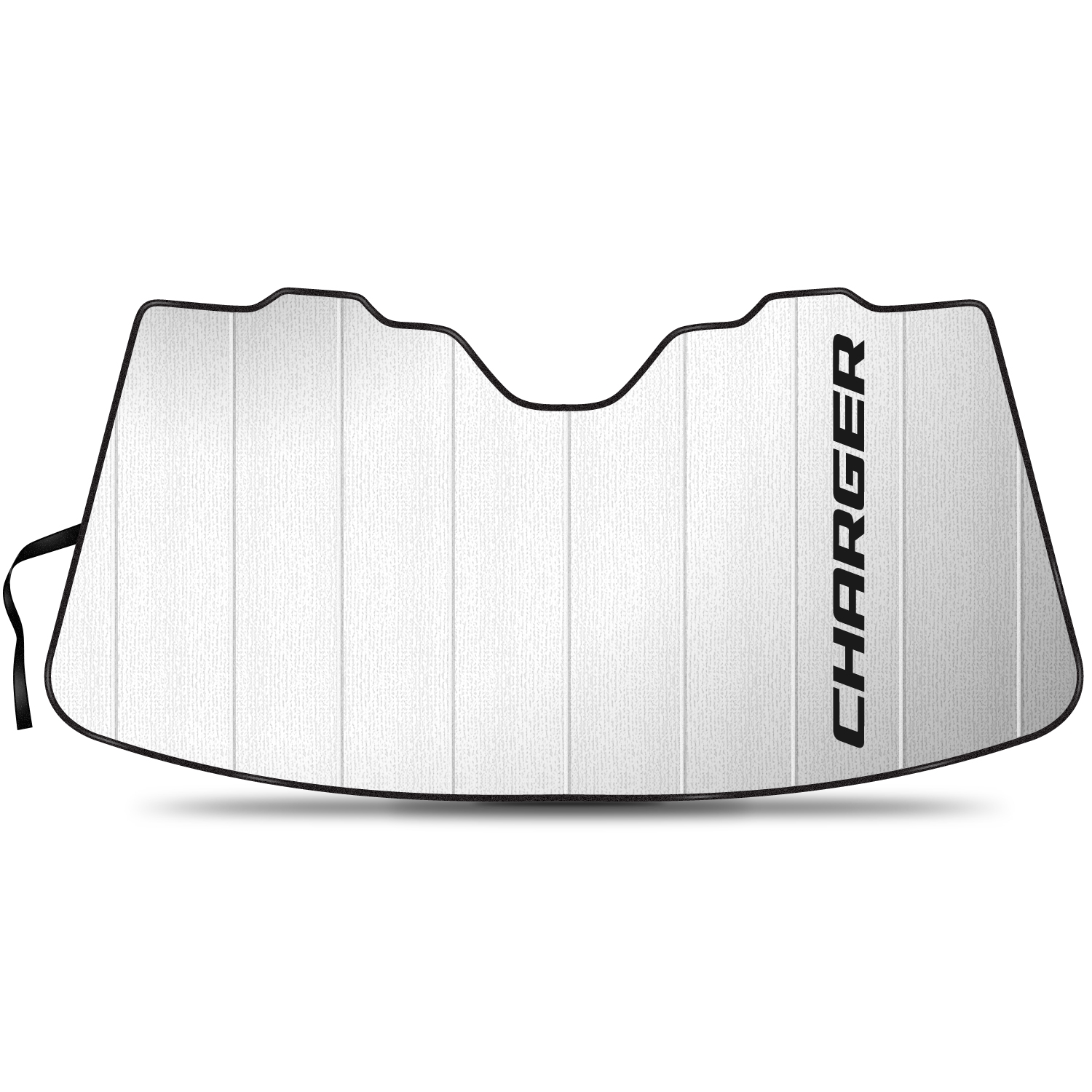 "Dodge Charger 55-1/2""x 27"" Stand Up Universal Fit Auto Windshield Sun Shade"