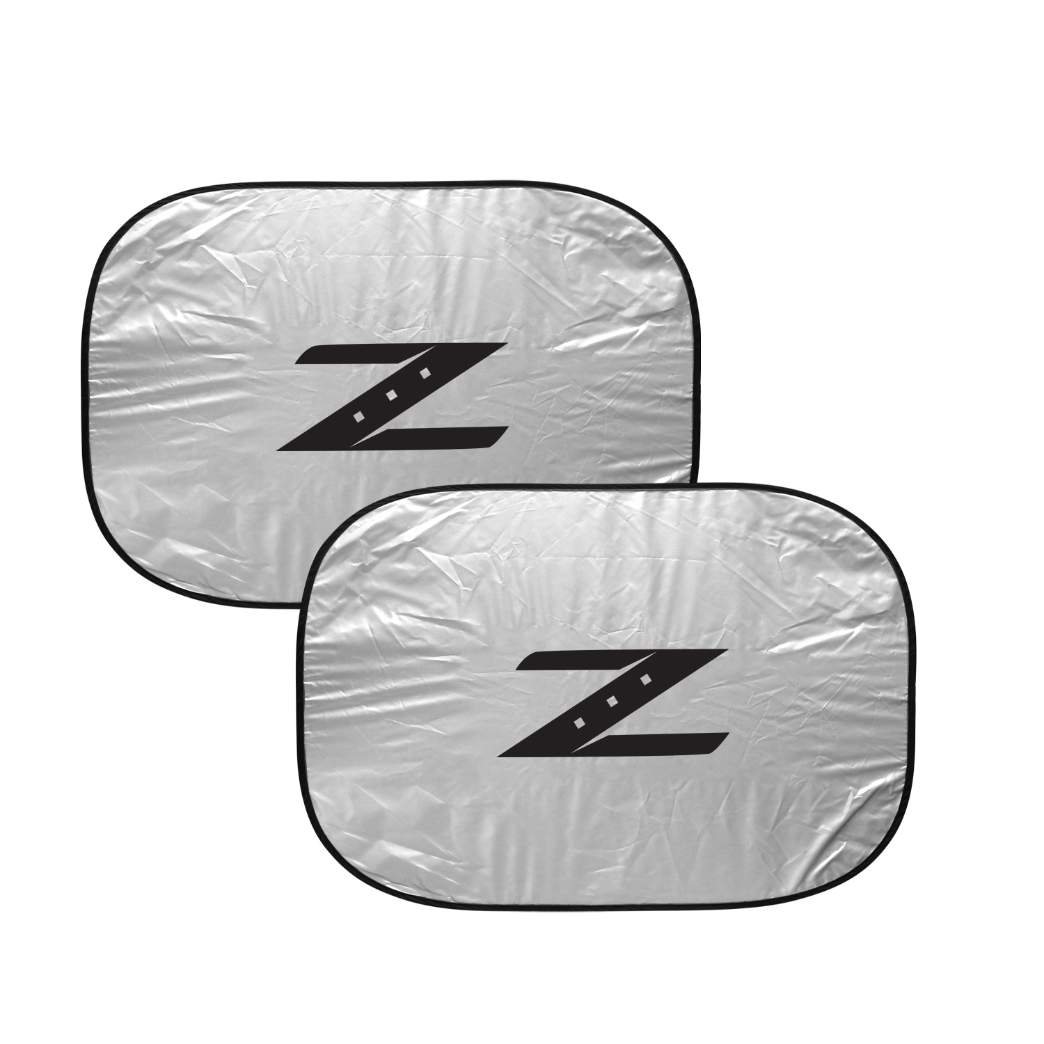 Nissan 350Z Z Logo Dual Panels Easy Folding Windshield Sun Shade for Cars and Small SUVs