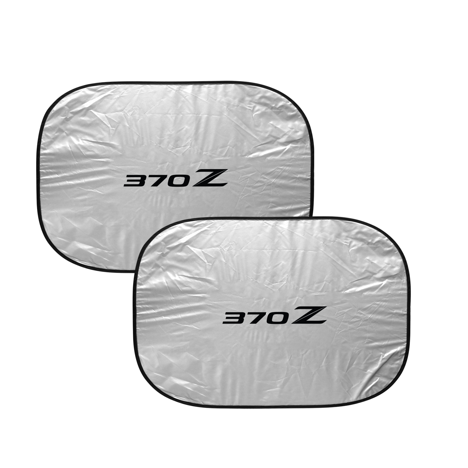 Nissan 370Z Dual Panels Easy Folding Windshield Sun Shade for Cars and Small SUVs