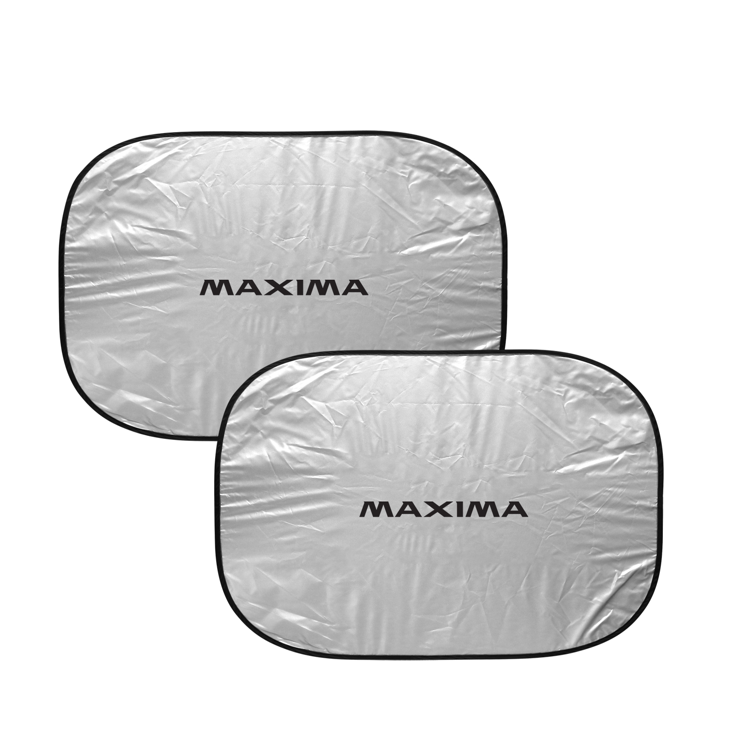 Nissan Maxima Dual Panels Easy Folding Windshield Sun Shade for Cars and Small SUVs