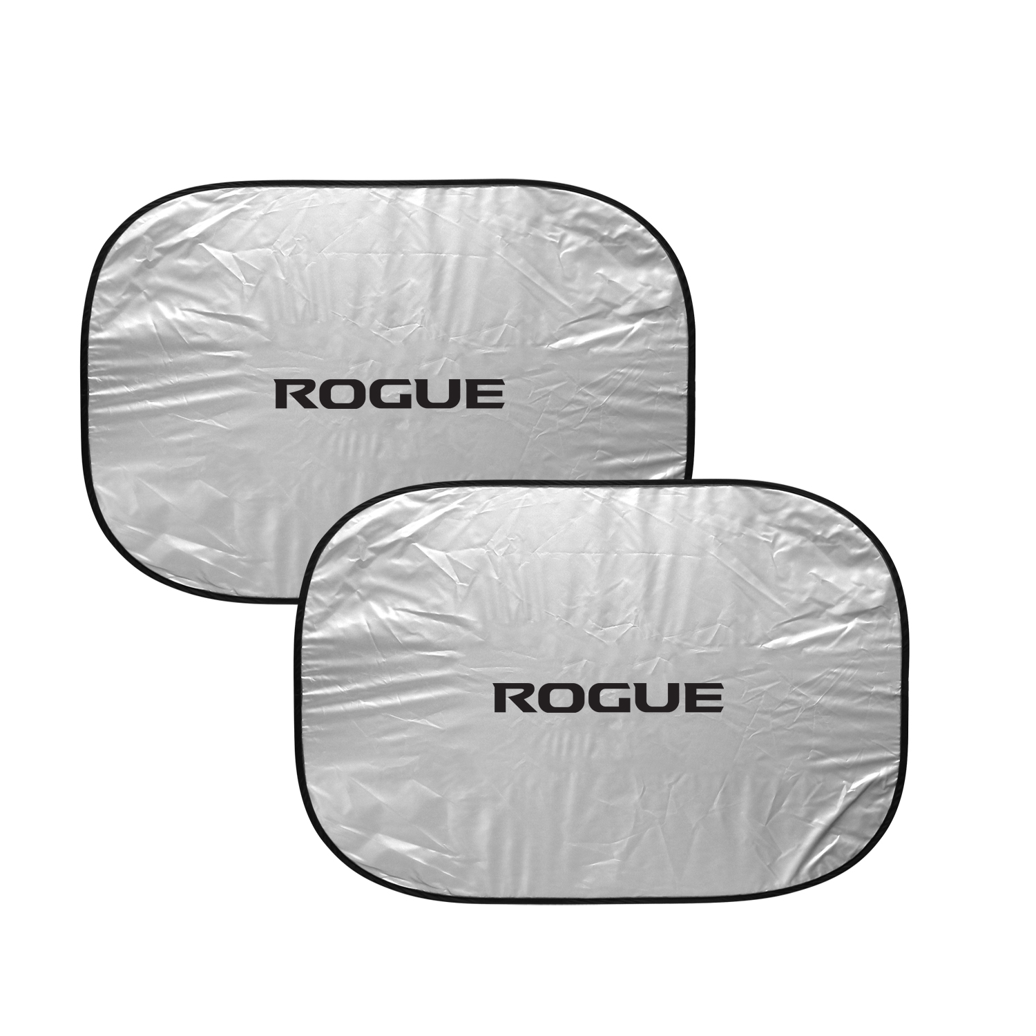 Nissan Rogue Dual Panels Easy Folding Windshield Sun Shade for Cars and Small SUVs