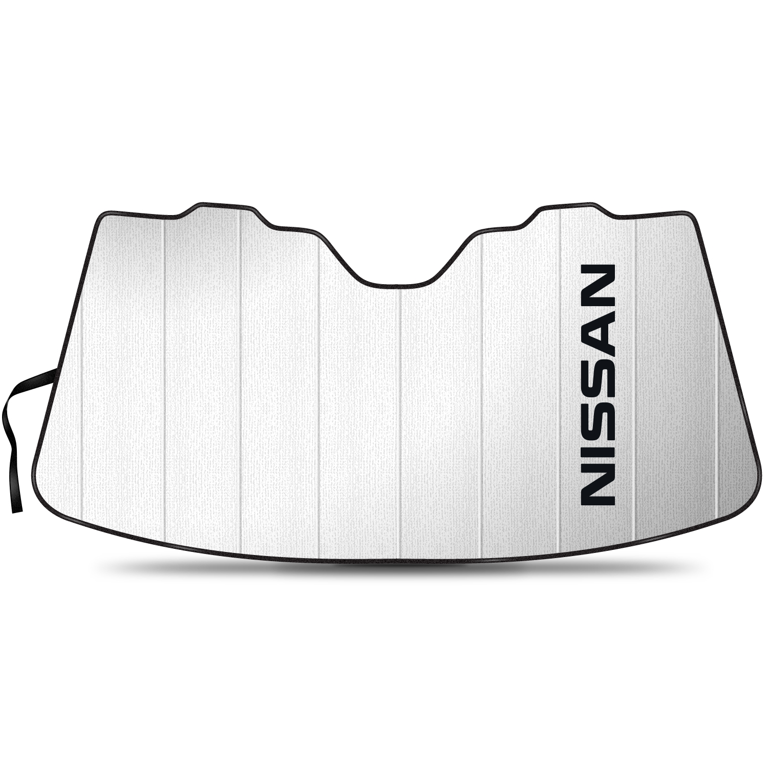 Nissan Stand Up Universal Fit Auto Windshield Sun Shade