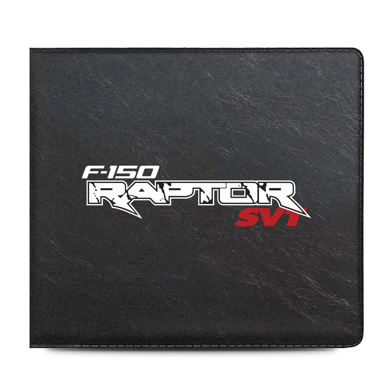 Ford F-150 Raptor SVT Car Auto Insurance Registration Black PVC Document Holder Wallet