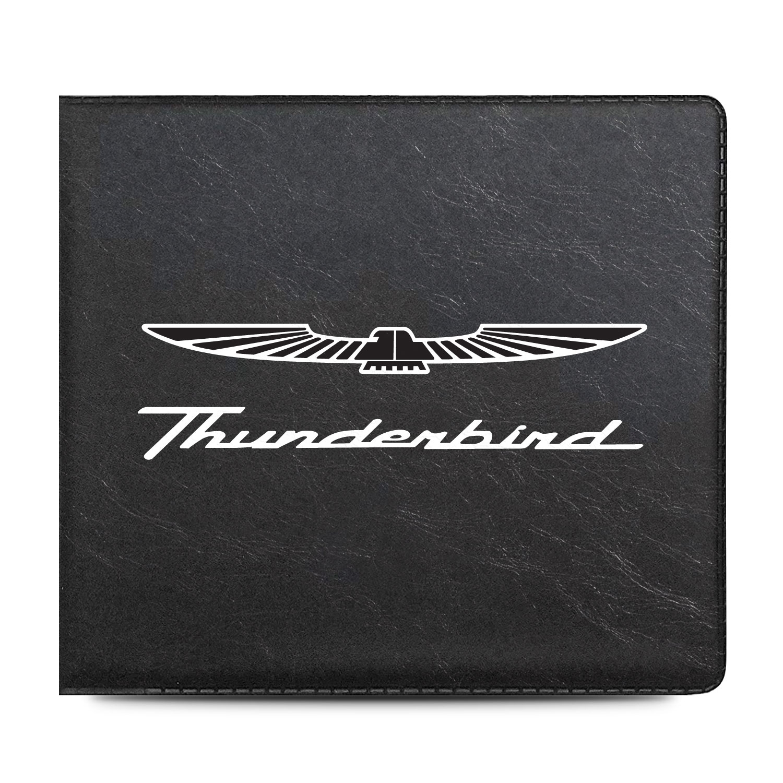 Ford Thunderbird Car Auto Insurance Registration Black PVC Document Holder Wallet
