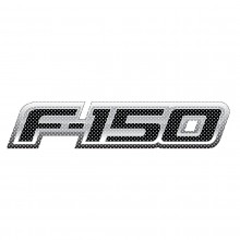 "Ford F-150 2008 to 2014 12"" 3M Perforated Unobstructed View Window Graphic Decorative Decal"