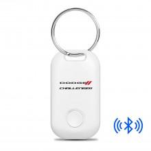 Dodge Challenger Bluetooth Smart Key Finder White Key Chain