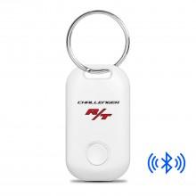 Dodge Challenger R/T Bluetooth Smart Key Finder White Key Chain
