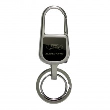Ford Escape Black Snap Hook LED Light Metal Key Chain